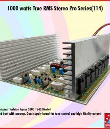 1000 watts True RMS Stereo Pro Series(114)