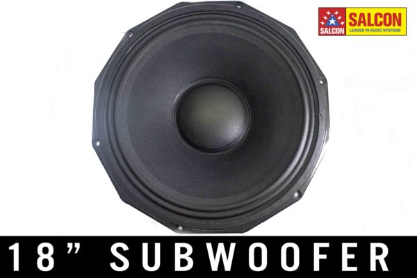 "18"" PROAUDIO SUBWOOFER FRONTAL"