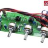 Preamplifier 4 tone Audio Board NE5532 IC