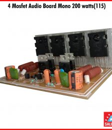 4 Mosfet Audio Board Mono 200 watts(115)