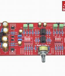 Hi-Fi Stereo Preamp with Volume Control & Regulated Supply
