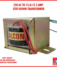 220 AC TO 12-0-12 2 AMP  STEP-DOWN TRANSFORMER
