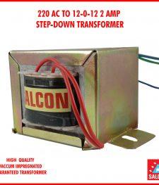 220 AC TO 12-0-12 2 AMP  STEP-DOWN TRANSFORMER(146)
