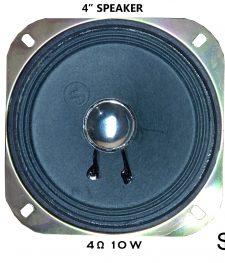 4″ SPEAKER 4 ohm 10 W