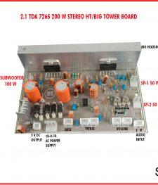 TDA 7265 200 W STEREO HT/BIG TOWER BOARD