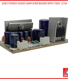 6283 STEREO AUDIO AMPLIFIER BOARD WITH 7805  (210)