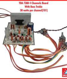 TDA 7388 4 Channels Board With Bass Treble (101)