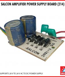 SALCON AMPLIFIER POWER SUPPLY BOARD (214)