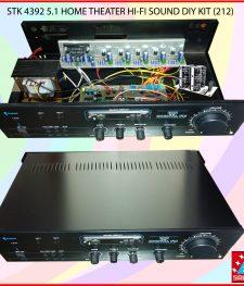 STK 4392 5.1 HOME THEATER HI-FI SOUND DIY KIT (212)