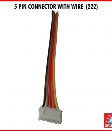 5 PIN CONNECTOR WITH WIRE  (222)