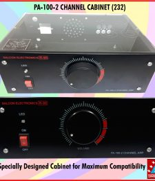 PA-100-2 CHANNEL CABINET (232)