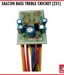 SALCON BASS TREBLE CRICKET (231)