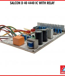 4440 IC D 40 AUDIO AMPLIFIER  WITH RELAY (240)