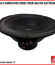 MAX X SUBWOOFER SERIES FROM SALCON ELECTRONICS(236)