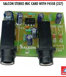 SALCON STEREO MIC CARD WITH F 4558 (237)