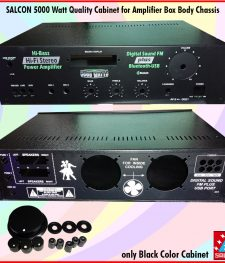 SALCON 5000 Watt Quality Cabinet for Amplifier Box Body Chassis(235)