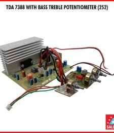 TDA 7388 WITH BASS TREBLE POTENTIOMETER (252)