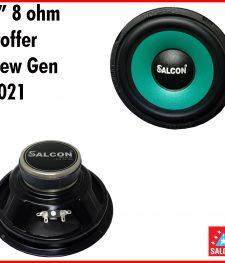 8″ 8 ohm pro full range Woofer  new Gen 2021