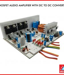 4 MOSFET AUDIO BOARD WITH DC TO DC CONVERTER (258)