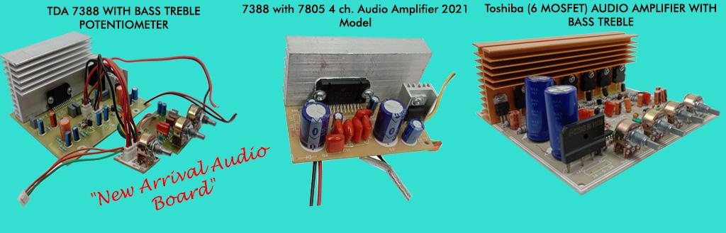 audio board new