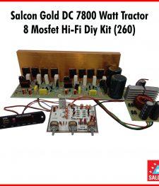 Salcon Gold DC 7800 Watt Tractor  8 Mosfet Hi-Fi Diy Kit (260)