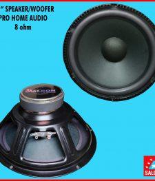 "10 "" SPEAKER/WOOFER PRO HOME AUDIO  8 ohm (280)"