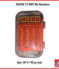SALCON 1/2 WATT MIX RESISTANCE (287)