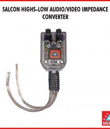 SALCON HIGHS-LOW AUDIO/VIDEO IMPEDANCE  CONVERTER  (282)