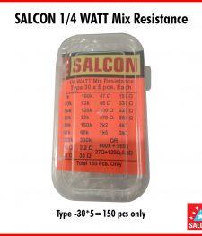 SALCON 1/4 WATT MIX RESISTANCE (286)